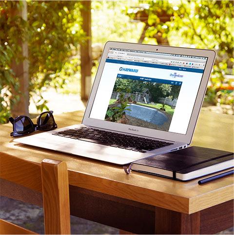 Build a virtual dream pool by hayward for Virtual dream home builder