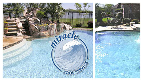 Miracle Pool Service - Rowlett, TX - Totally Hayward Pool Dealer